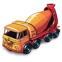 Foden Concrete Truck Emoticon