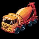 Foden Concrete Truck Emoticon