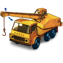 Dodge Crane Truck With Movement Emoticon