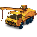Dodge Crane Truck Emoticon