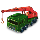 8 Wheel Crane Emoticon