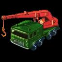 8 Wheel Crane Emoticon