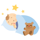 Baby Sleeping Emoticon