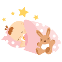 Baby Sleeping Emoticon