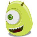 Mike Wazowski Emoticon