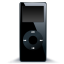 IPod Nano Black 2 Emoticon