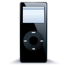 IPod Nano Black 1 Emoticon