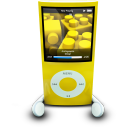 IPodPhonesYellow Emoticon