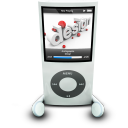 IPodPhonesWhite Emoticon