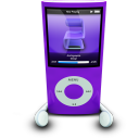 IPodPhonesPurple Emoticon