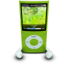 IPodPhonesGreen Emoticon