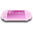 Pink PSP Emoticon