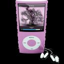 Pink Ipod4rthgen Emoticon