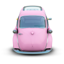 Pink Car Emoticon
