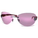 PINK GLASSES Emoticon