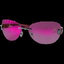 Pink Glasses Emoticon