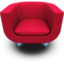 Magenta Seat Emoticon