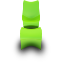 Lime Seat Emoticon