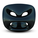 Black Seat Emoticon