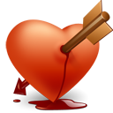 Heart Arrow Emoticon