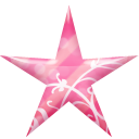 Star Pink Emoticon