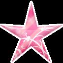 Star Pink Emoticon