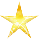 Star Gold Emoticon