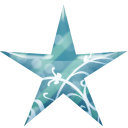 Star Blue Emoticon