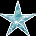 Star Blue Emoticon