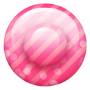 Pink Button 2 Emoticon