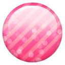 Pink Button Emoticon