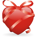 Ribbon Heart Emoticon