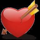 Bleeding Heart Emoticon