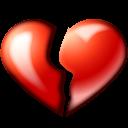 Broken Heart Emoticon