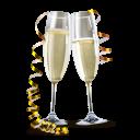 Champagne Emoticon