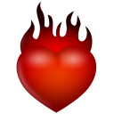 Fire Emoticon