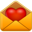 Email Love Emoticon