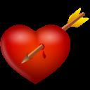 Arrow And Heart Emoticon