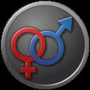 Sex Male Female Circled Emoticon