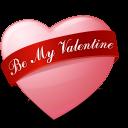Heart Bemyvalentine Emoticon