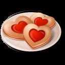 Cookies Hearts Emoticon