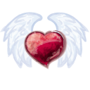 Wing Heart Emoticon