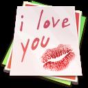 Paper Kiss Emoticon