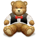 Gift Brown Bear Emoticon