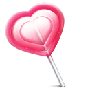 Love Heart Lolly Emoticon