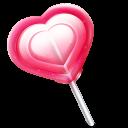 Love Heart Lolly Emoticon