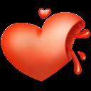 Heart Blood Emoticon