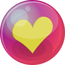 Heart Yellow 6 Emoticon