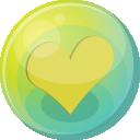 Heart Yellow 5 Emoticon