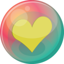 Heart Yellow 2 Emoticon